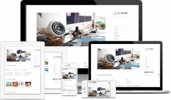 A-TEAM – Minimal & Responsive HTML5 Blog Template