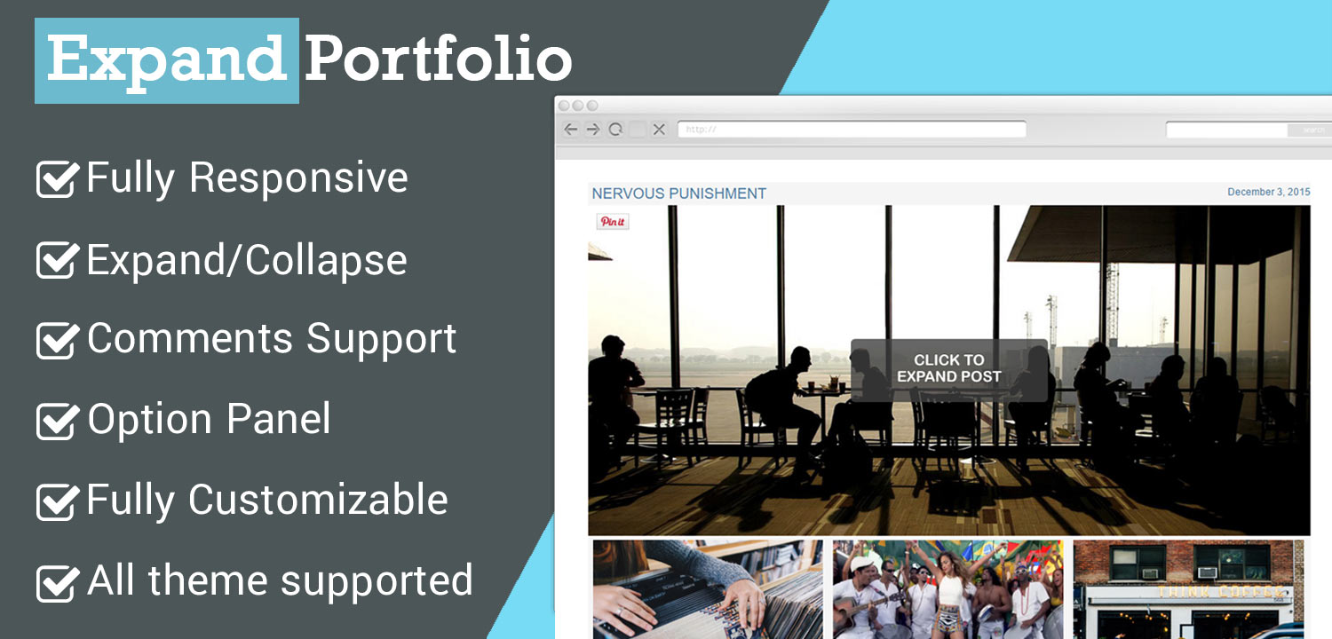 Expand Portfolio WordPress Plugin