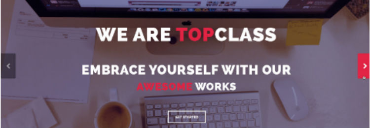TopClass HTML5 Website Template