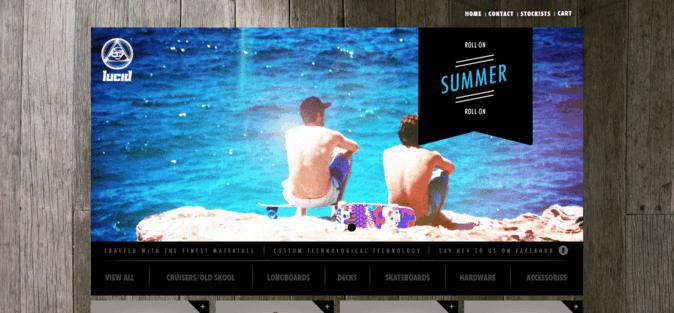 Ecommerce Web Design Inspiration 2014