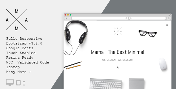 MAMA WordPress Theme