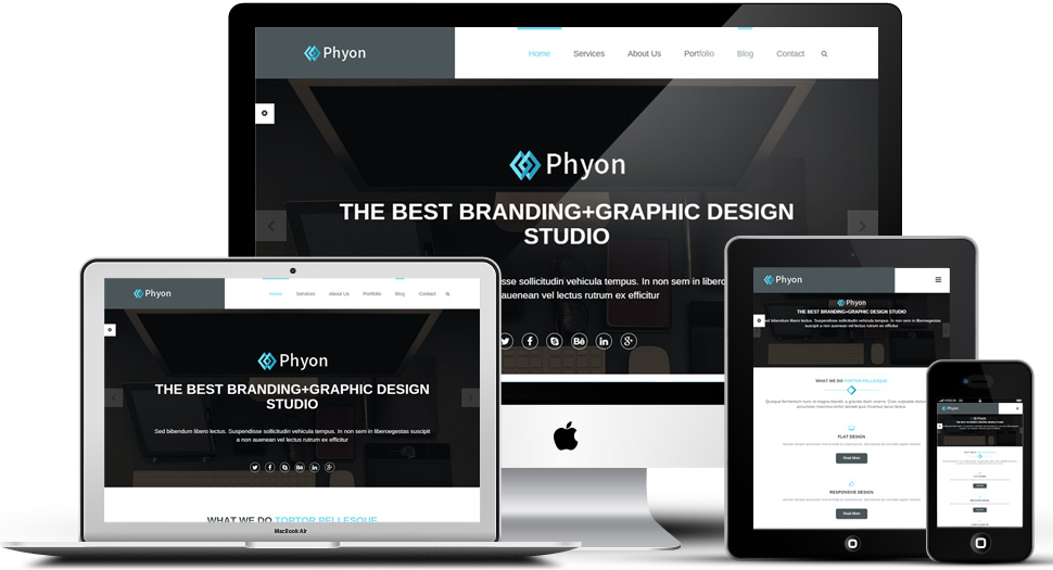 Phyon Responsive template