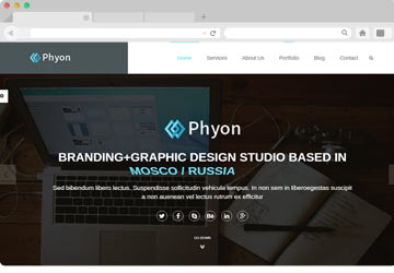 Phyon Website Template