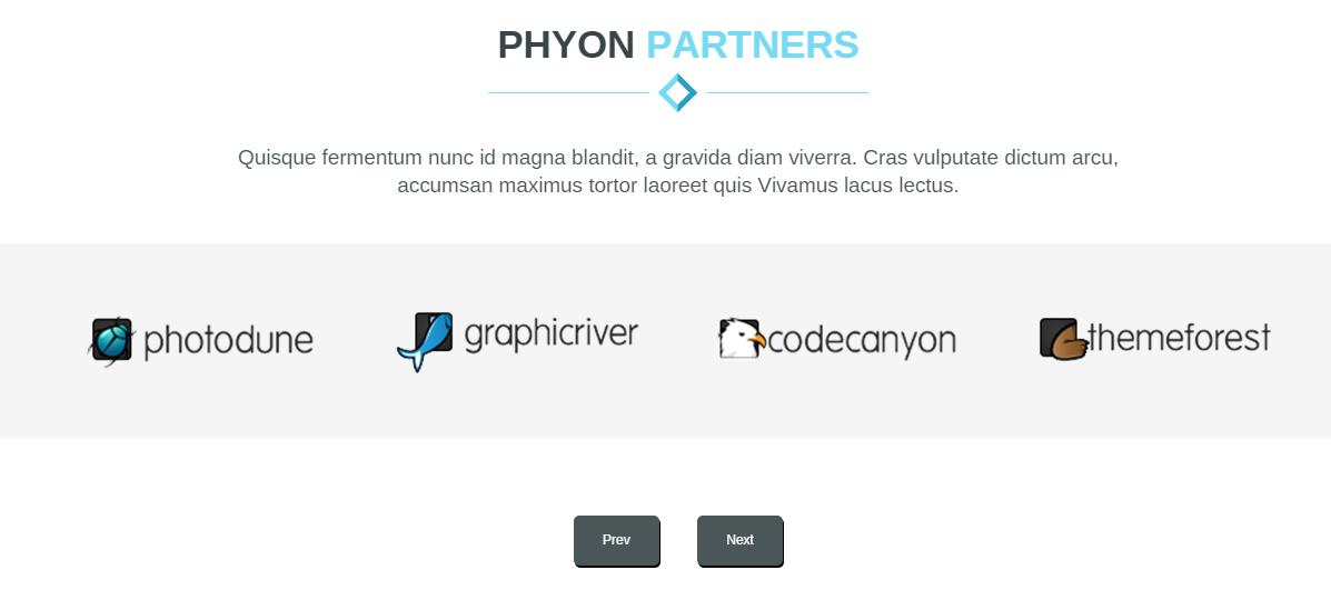 phyon partner section