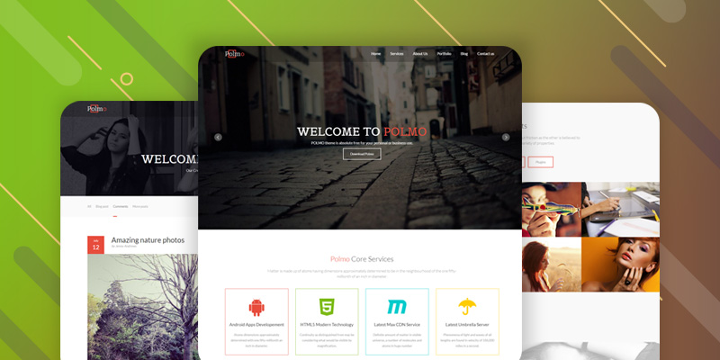 Polmo Free HTML5 Template