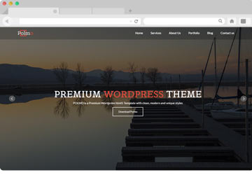 Polmo Website Template