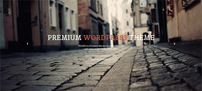 Polmo A Free WordPress Theme
