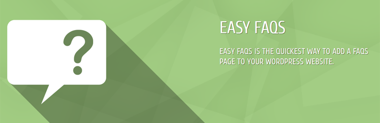 Free WordPress FAQ Plugin