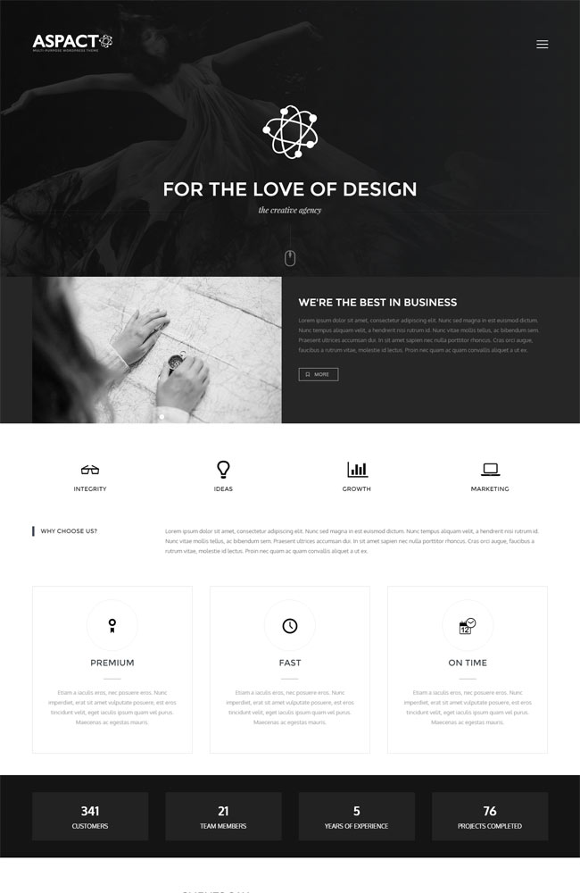 Aspact - Creative Agency Theme