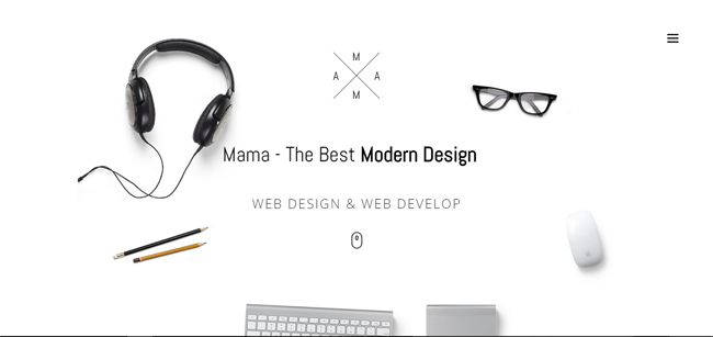 MAMA - WordPress Photography Themes