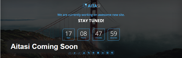 Aitasi Coming Soon WordPress Plugin