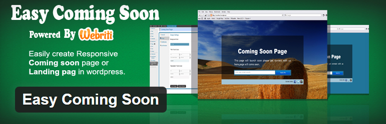 Easy Coming Soon WordPress Plugin