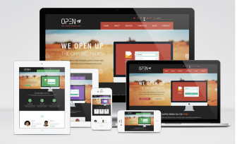 Open – Corporate Responsive Multipurpose Theme