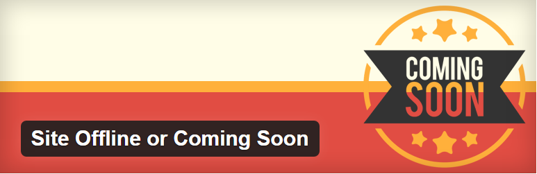 Site Offline or Coming Soon WordPress Plugin