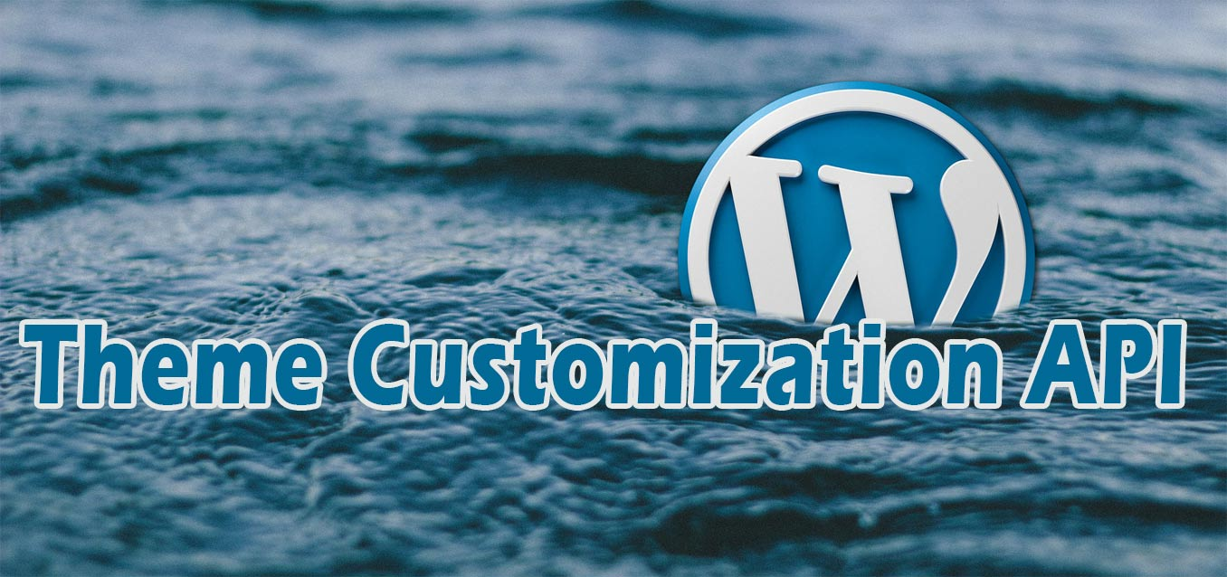 WordPress Theme Customization API