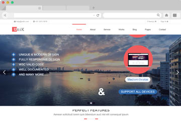 Unik Website Template