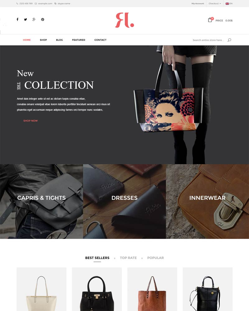 WordPress Themes 2016, WordPress Themes, eCommerce Themes, Ecommerce WordPress Themes 2016