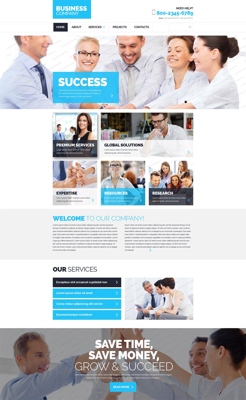 Business Compan template