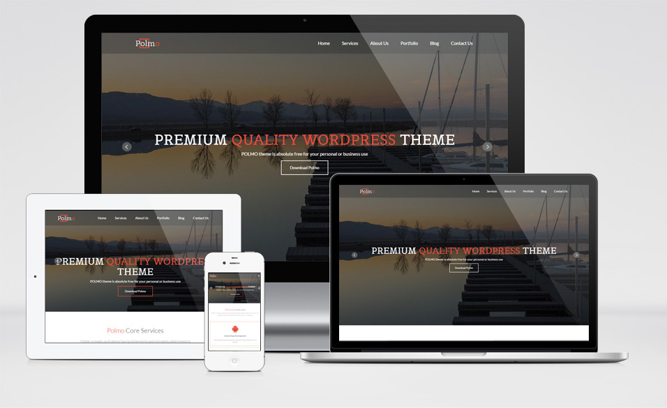 Polmo Responsive WordPress Theme