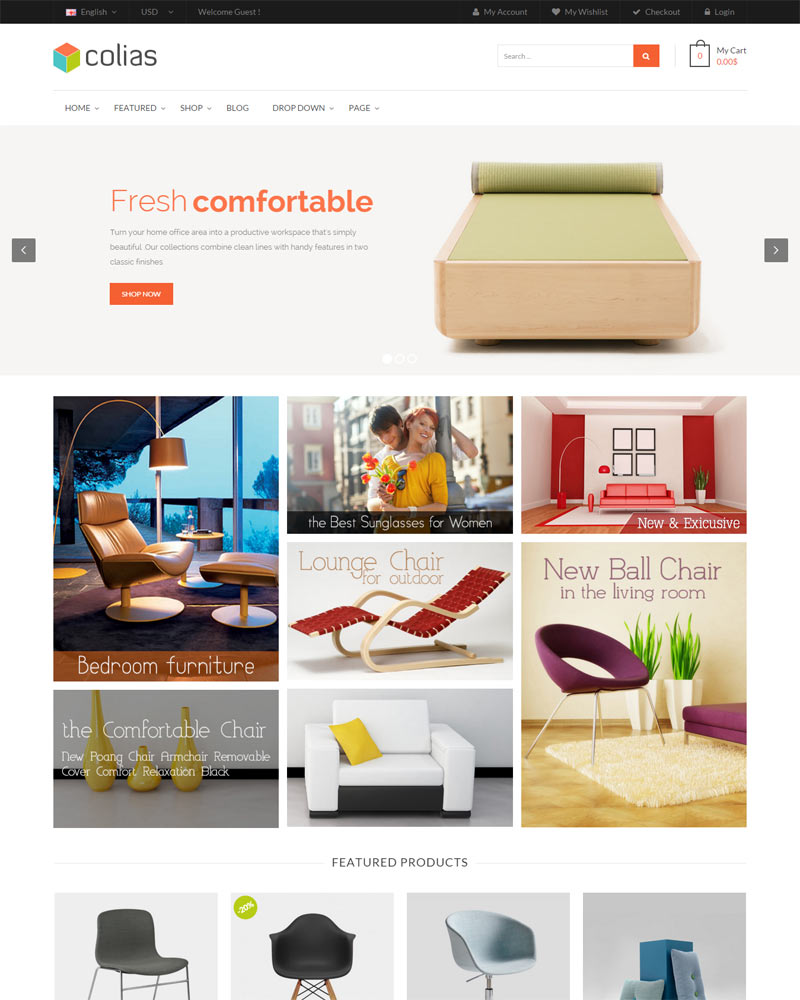 Ri Colias - Ecommerce WordPress Themes 2016