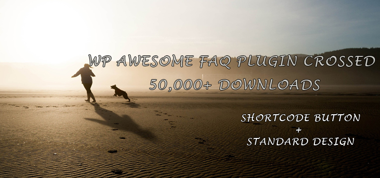 WP Awesome FAQ Free Plugin Features