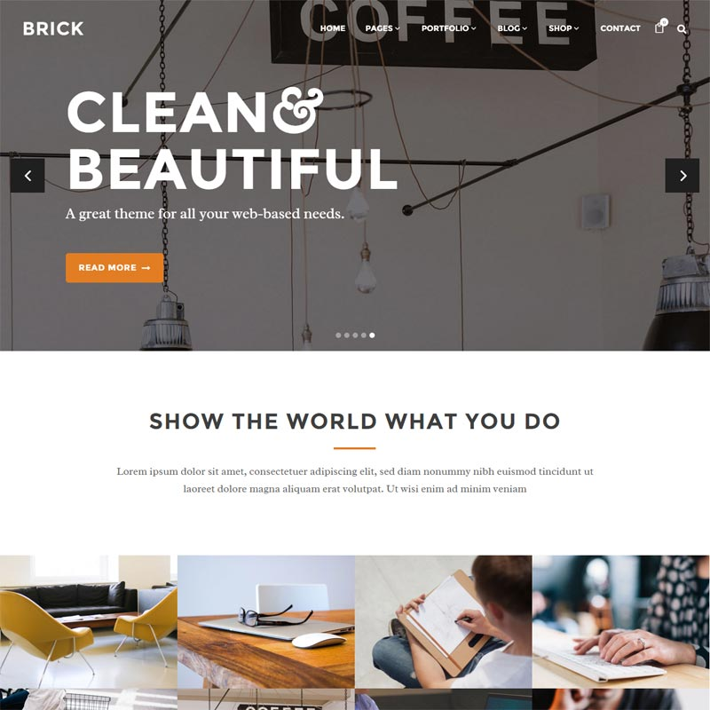 Brick , Responsive WordPress Themes 2016,