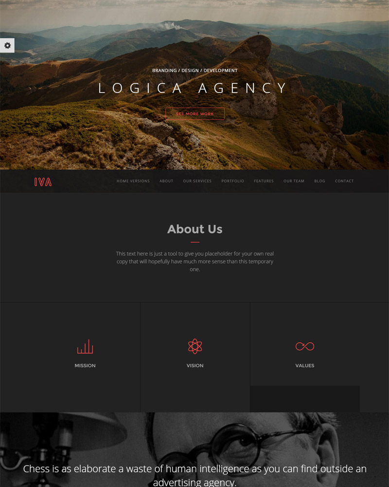 Multipurpose One Page Responsive Theme