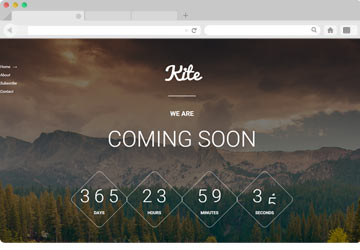 KIte best coming soon Plugin