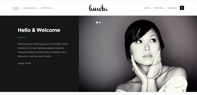 Creative and Elegant Portfolio Theme