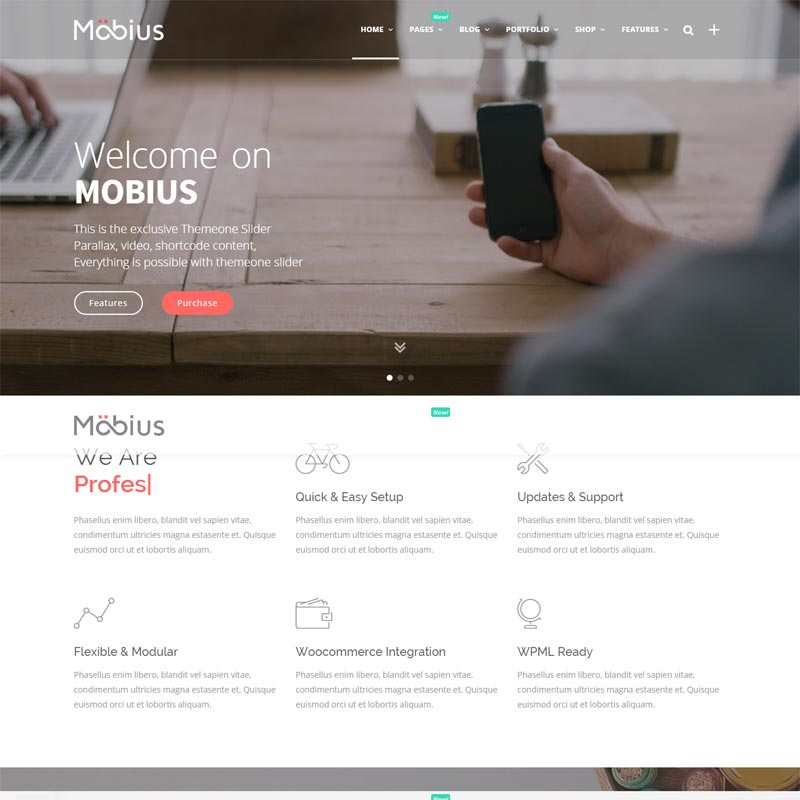 Mobius , Responsive WordPress Themes 2016,
