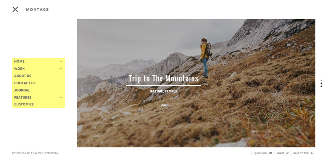 Creative Photography WordPress Theme