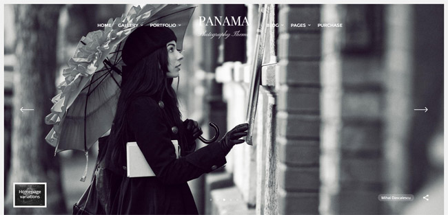 Panama , WordPress, Theme,
