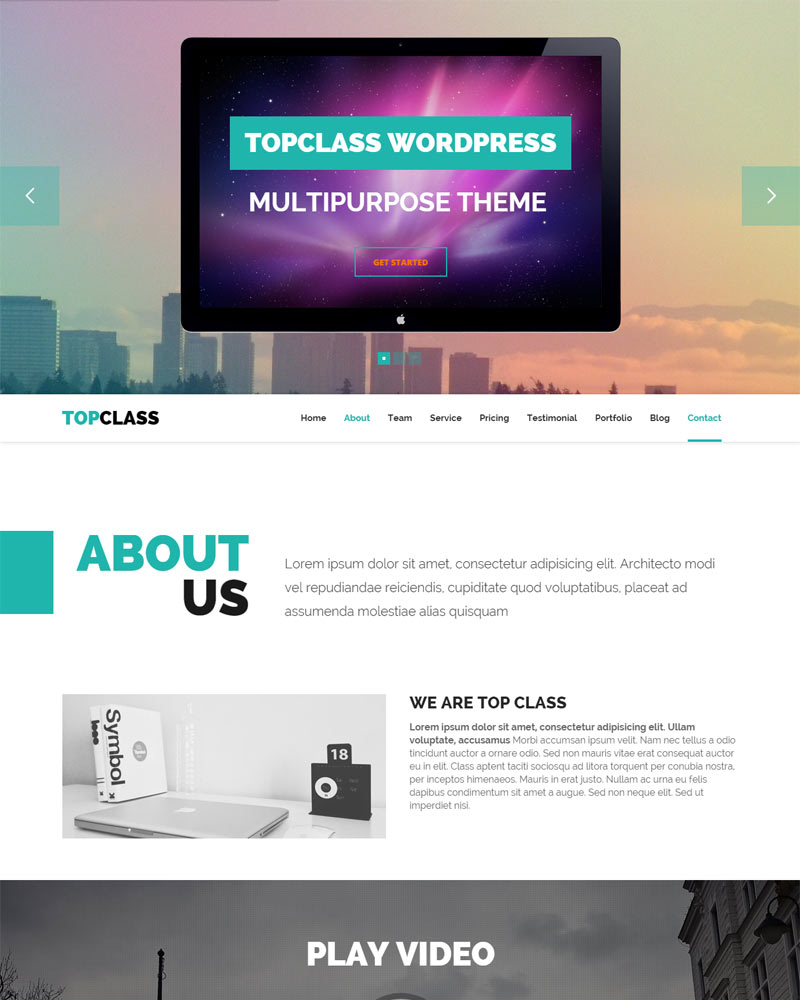 WordPress Theme, Website Design, WordPress Themes 2016