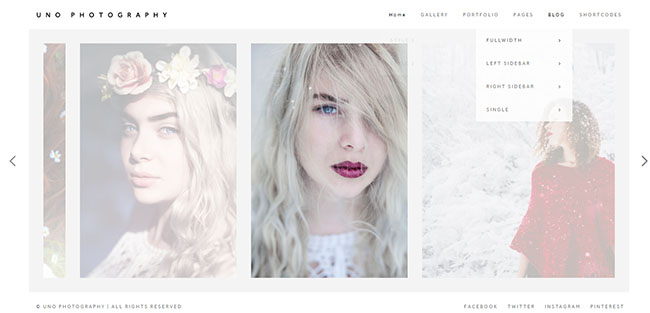 Uno Photography , WordPress, Theme,