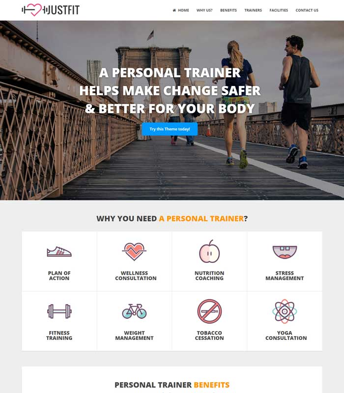 justfit personal trainer