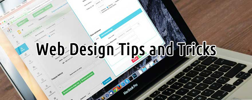 Quick Web Design Tips and Tricks
