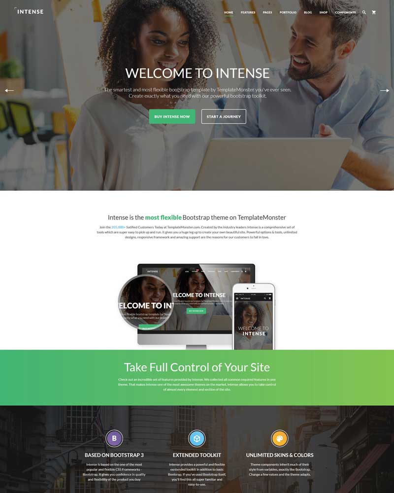 Best Multipurpose HTML Website Template - Create web page template