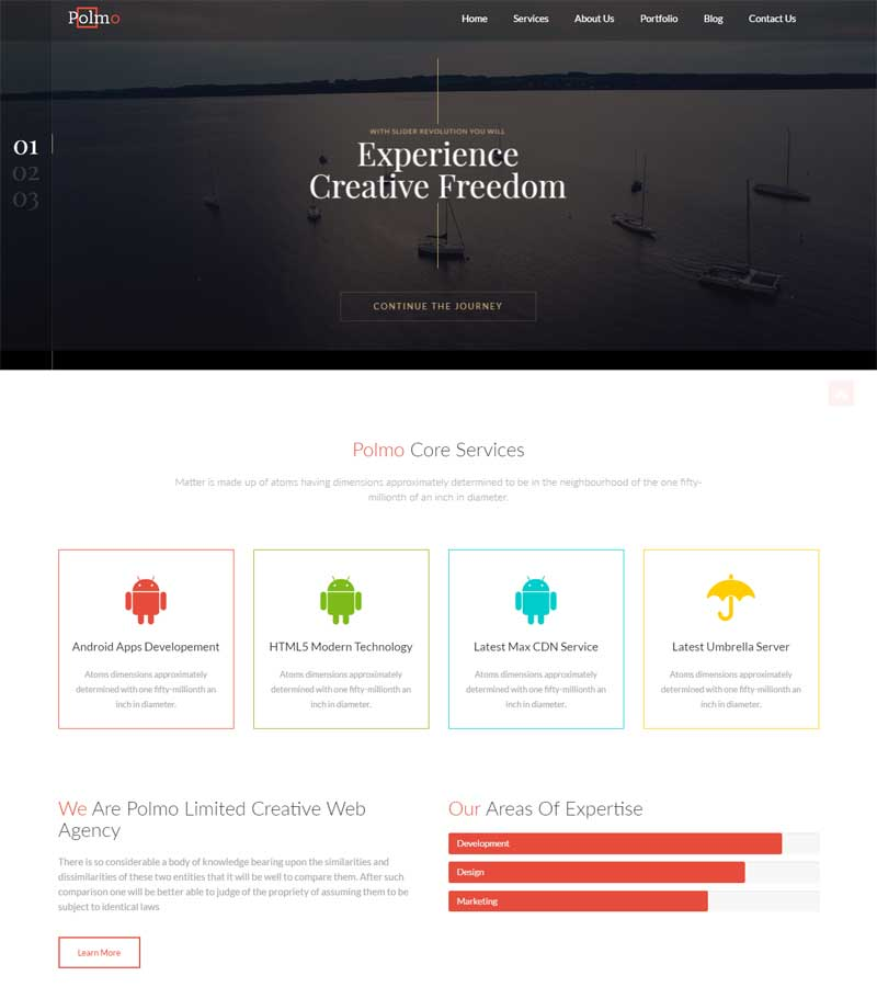 Polmo Pro WordPress Theme