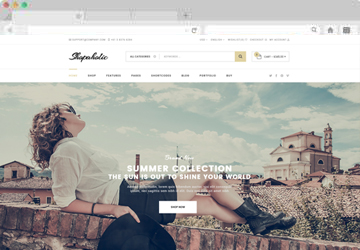 Responsive Multipurpose eCommerce HTML5 Template