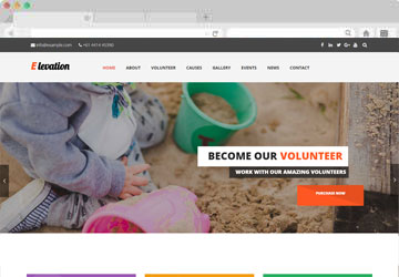 Elevation Best Charity WordPress Theme
