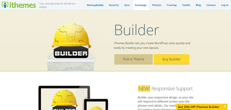 iThemes Builder Most Popular WordPress Frameworks