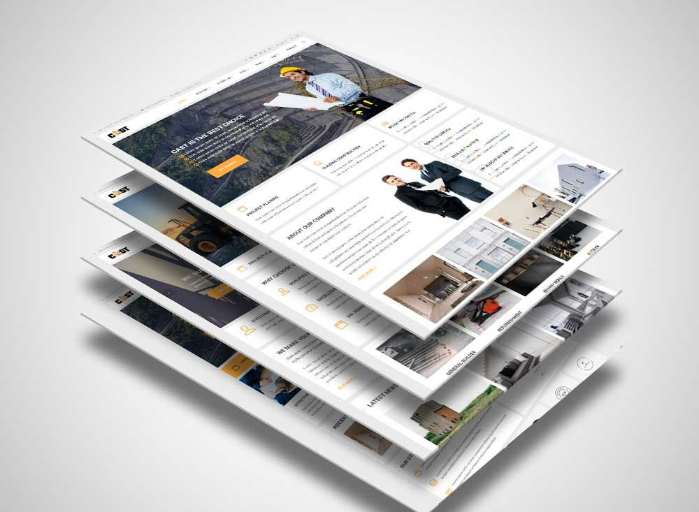 Cast – Modern Construction WordPress Theme