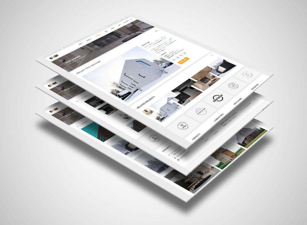 CAST – Modern HTML5 Template For Construction Business
