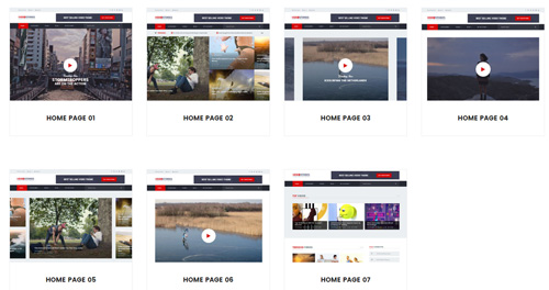 VideoStories – Best Video Blogging HTML5 Template