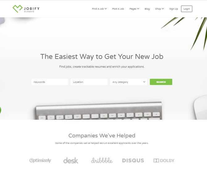 Jobify Job Board Theme