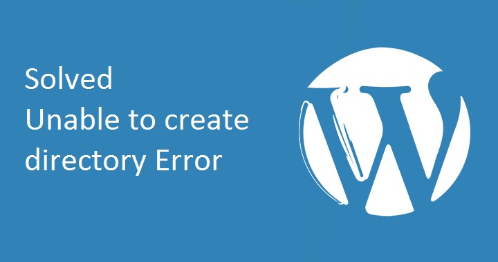 Unable to Create Directory on its Parent Directory Writable by the Server