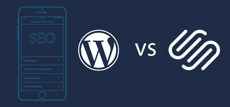 Which is more SEO friendly, WordPress or Squarespace?