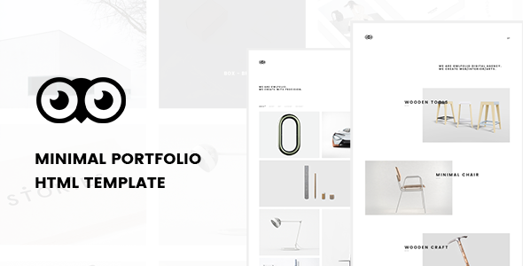 Owlfolio – Creative Design Personal Portfolio WordPress Theme