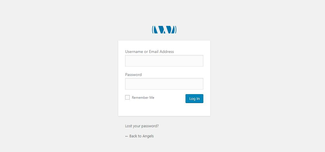 Check the Website Login with WP-Admin
