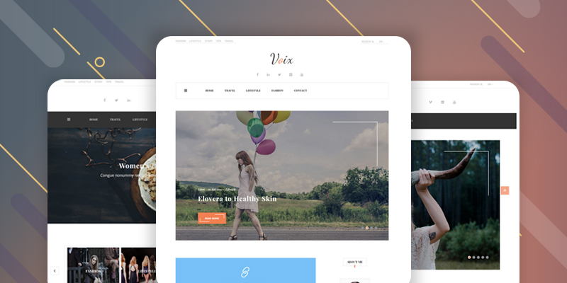 Personal Blogging WordPress Theme for Storytellers
